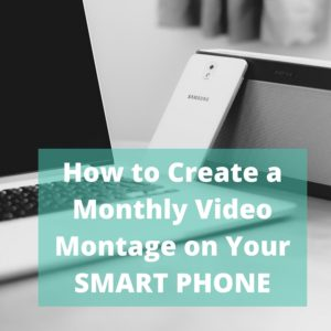 20160627 How to create a video montage
