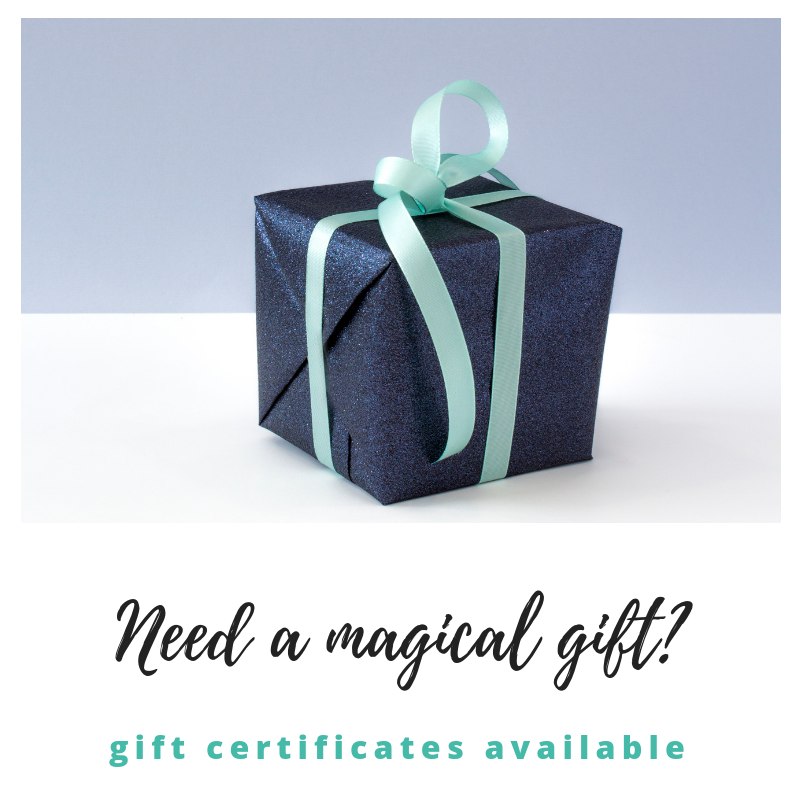 Filing Fairy Gift Certificate available